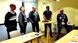 Falu-Borlänge Myntklubbs styrelse presenterar myntklubben